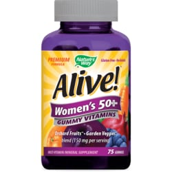 Nature's WayALIVE! Women's 50+ Gummy Vitamins