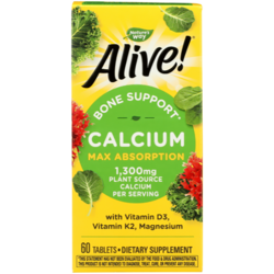 Nature's WayALIVE! Calcium Bone Formula