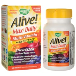 Nature's WayAlive! Whole Food Energizer without Iron