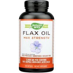 Nature's WayEFAGold Flax Oil High Potency