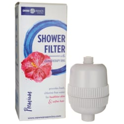 New Wave EnviroPremium Shower Filter with Aromatherapy Ring