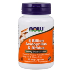 NOW Foods 8 Billion Acidophilus & Bifidus