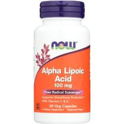 NOW FoodsAlpha Lipoic Acid 100 mg
