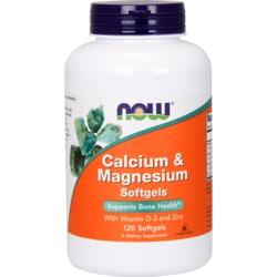 NOW Foods Calcium Magnesium + D
