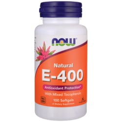 NOW Foods Natural E-400