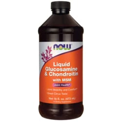 NOW FoodsLiquid Glucosamine & Chondroitin with MSM