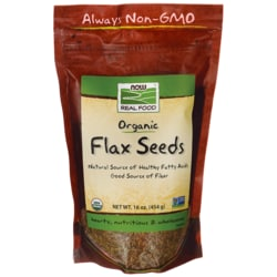 NOW Foods Organic Flax Seed