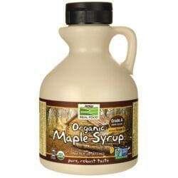 NOW FoodsGrade A Dark Color Organic Maple Syrup