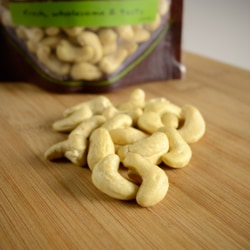 NOW FoodsCertified Organic Whole, Raw Cashews - Unsalted