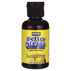 NOW FoodsBetter Stevia Liquid Sweetener - Lemon Twist