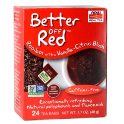 NOW FoodsBetter Off Red Tea Rooibos with Vanilla-Citrus Blush
