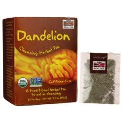 NOW Foods Dandelion Cleansing Herbal Tea