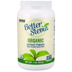 NOW FoodsBetter Stevia Certified Organic Extract Powder
