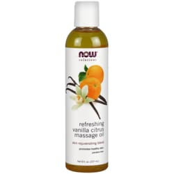 NOW FoodsRefreshing Vanilla Citrus Massage Oil