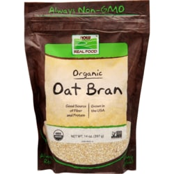 NOW Foods Organic Oat Bran