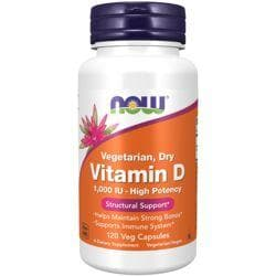 NOW FoodsVegetarian, Dry Vitamin