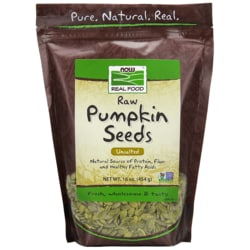 NOW FoodsRaw Pumpkin Seeds - Unsalted