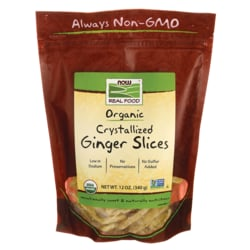 NOW FoodsOrganic Crystallized Ginger Slices