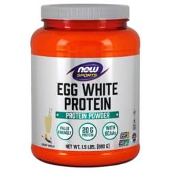 NOW Foods Eggwhite Protein Vanilla Creme