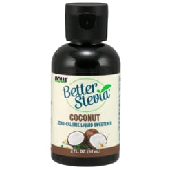 NOW FoodsBetter Stevia Liquid  Sweetener - Coconut