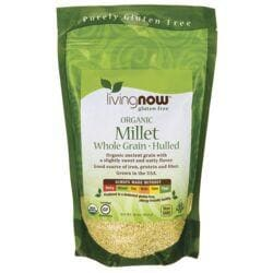 NOW FoodsOrganic Whole Grain Hulled Millet