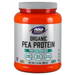 NOW FoodsOrganic Pea Protein - Natural Unflavored