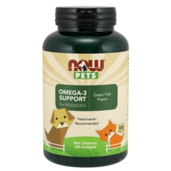 NOW FoodsNOW Pets Omega-3 Support For Dogs/Cats