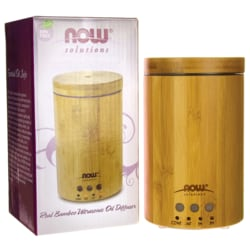 NOW FoodsReal Bamboo Ultrasonic Oil Diffuser