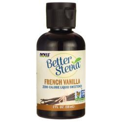 NOW FoodsBetter Stevia Liquid Sweetener - French Vanilla