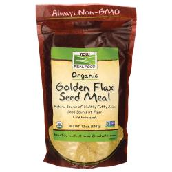 NOW FoodsOrganic Golden Flax Seed Meal