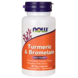 NOW Foods Turmeric & Bromelain
