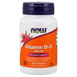 NOW FoodsVitamin D-3 400 IU