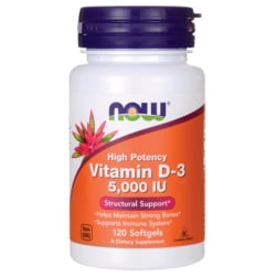 NOW FoodsVitamin D3 5000 IU