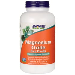 NOW FoodsMagnesium Oxide Pure Powder
