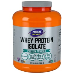 NOW FoodsWhey Protein Isolate - Natural Unflavored