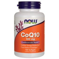 NOW Foods CoQ10 100 mg