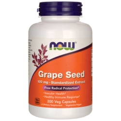 NOW Foods Grape Seed Standardized Extract