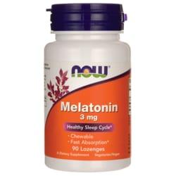 NOW Foods Melatonin Lozenges