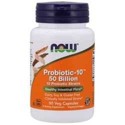 NOW Foods Probiotic-10 50 Billion