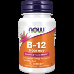 NOW Foods Vitamin B-12 + Folic Acid
