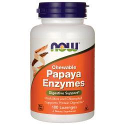 NOW FoodsChewable Papaya Enzymes
