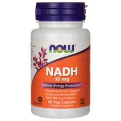 NOW Foods NADH 10mg with 200mg D-Ribose