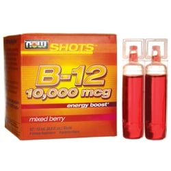 NOW FoodsB-12 Shots - Mixed Berry