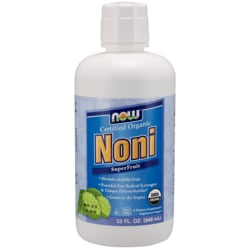 NOW Foods Certified Organic Noni SuperFruit Juice