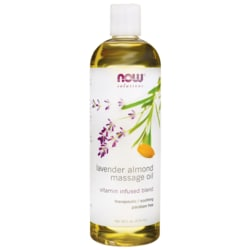 NOW Foods Massage Oil Lavender Almond
