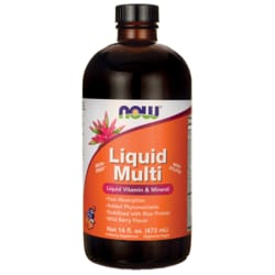 NOW FoodsLiquid Multi Wild Berry Flavor
