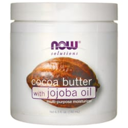 NOW Foods Cocoa Butter with Jojoba Oil