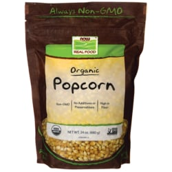 NOW FoodsPopcorn Certified Organic