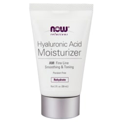 NOW Foods Hyaluronic Acid Moisturizer AM Fine Line & Repair