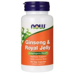 NOW FoodsGinseng & Royal Jelly